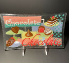 Peggy Karr 10 Signed Fused Glass Chocolate Tray