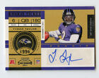 Tyrod Taylor 2011 Playoff Contenders Rookie Ticket Autograph TH2713