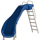 SR Smith 610 209 5823 Rogue2 Pool Slide Left Curve Blue 8 for Swimming Pools