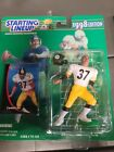 1998 NFL Starting Lineup Carnell Lake Pittsburgh Steelers Action Figure