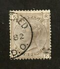 Great Britain stamp 71used plate 17 Queen Victoria SCV 500