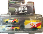GREENLIGHT 164 2019 FORD F 350  2021 FORD MACH 1  TRAILER SHELL 31110B chase