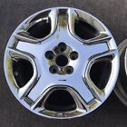 SINGLE 18 INCH WHEEL RIM LEXUS SC430 2006 2010 OEM PVD CHROME 74187