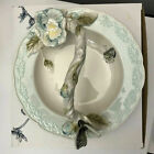Edie Rose Bloom Collection Butterfly Plate Basket Dish Edie Rose Butterfly