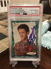 Dustin Diamond Saved By The Bell Signed Card PSA DNA Authentic Auto Screech Mint