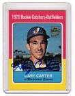 2001 Topps Archives Gary Carter Auto Autographed 1975 Rookie Reprint