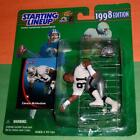 1998 CHESTER MCGLOCKTON #91 L.A. Raiders Rookie *FREE s/h* sole Starting Lineup