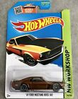 Hot Wheels 69 Ford Mustang Boss 302 2015 Super Treasure Hunt