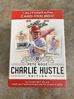 2020 leaf pete rose charlie hustle edition blaster box Autograph In Every Box