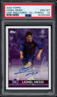 2020 Topps Lionel Messi Champions League Soccer Cards 17