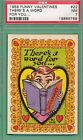 1959 Topps Funny Valentines Trading Cards 33