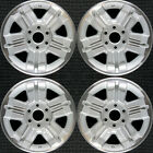 Chevrolet Avalanche Machined Lip w Silver Spokes 18 OEM Wheel Set 1999 to 20