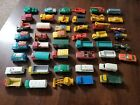Vintage 1960s Lot Of 46 Diecast Matchbox Cars By Lesney BARN FIND