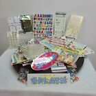 Scrapbooking Mixed Sticker Lot Letters Numbers Words Quotes Art Craft Planner