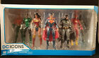 DC Icons Justice League 7 Pack Action Figure Set New Sealed Box Rebirth