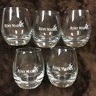 REMY MARTIN CHAMPAGNE COGNAC WEIGHTED GLASSES5 glass Lot Preowned