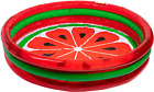3 Ring Pool Watermelon Style  Kids Outdoor Inflatable Games  Blow Up Pool for