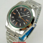 36mm BLIGER black white dial sapphire glass miyota 8215 automatic mens watch