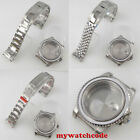 solid 40mm sapphire glass diving Watch Case fit NH35 NH36 SKX SRP 7S26 movement