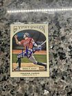 Hunter Pence Signed 2011 Topps Gypsy Queen #77 Giants Astros Autograph