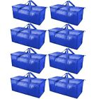 TICONN Extra Large Moving Bags with Zippers  Carrying Handles Heavy