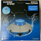 Summer Waves Robotic Cordless Rechargeable Swimming Pool Vacuum Cleaner System