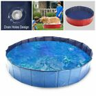 Heavy Duty Pet Swimming Pool Collapsible Dog Bathing Tub for Dogs Kids Foldable