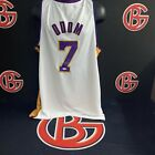 Lamar Odom Los Angeles Lakers Signed White Jersey Autographed JSA