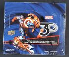 2015 Upper Deck MARVEL 3D Trading Card Factory Sealed 24 count Box