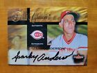 HOFer SPARKY ANDERSON 2002 Fleer Ultra Fall Classic On-Card Auto Autograph