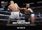 2017 Topps Now Mayweather vs. McGregor Trading Cards 15