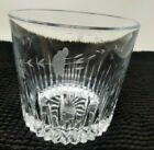 Etched Lead Crystal Ice Bucket Decorative Bowl