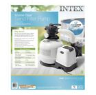 Intex 2800 GPH Above Ground Pool Sand Filter Pump with Automatic Timer