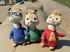 Ty Beanie Babies: From Alvin & The Chipmunks ~ Alvin, Theodore And Simon