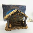 Fontanini Lighted Nativity Stable 50046 25 Scale box 1998