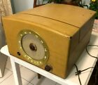 Vintage Zenith Cobra Matic Variable Speed Turntable AM Radio Receiver Tube