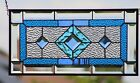 Beveled Stained Glass Window Panel  20 5x105 At SEA Ready to Hang