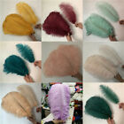 100 pcs natural ostrich feathers 6 24 inches 15 60 cm 25 colors available