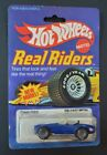 VINTAGE HOT WHEELS REAL RIDERS SERIES Classic Cobra 4369 Carded Punched 82 HK