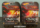 Hot Wheels Retro Need For Speed 2014 Custom Mustang NEW 2 Pieces RARE