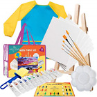 Kids Art Set for Boys and Girls  Acrylic Kids Paint Set for Canvas Painting for
