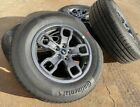 2021 Ford Bronco Sport 17 Wheels Tires Factory OE P225 65R17 Continental