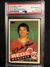 Pete Rose Baseball Cards, Rookie Card and Autographed Memorabilia Guide 39