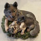 Hallmark Ornament 1998 Majestic Wilderness-Timber Wolves At Play *DESCRIPTION*