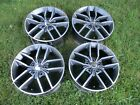 18 Jeep Grand Cherokee Factory Polished OEM Alloy Wheels Rims 9165 2011 2020 8