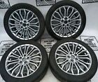 """17"""" FORD FOCUS, MONDEO SET OF GENUINE ALLOY WHEELS WITH TYRES"""