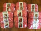Lot of 18 skeins Red Heart Boutique Sashay Sparkle Salmon all same lot