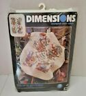 New Dimensions Stamped Cross Stitch Kit Home For All Seasons Quilt 34x43 3211