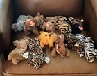 Rare Retired Mint Condition Beanie Babies Lot Of 12 Early 1990's-1999 Tag Errors