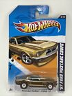 2012 Hot Wheels 67 FORD MUSTANG COUPE SUPER TREASURE HUNT w PROTECTOR free shipp